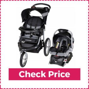 Baby Trend Expedition Jogging Stroller and Best Designed Infant Car Seat 379
