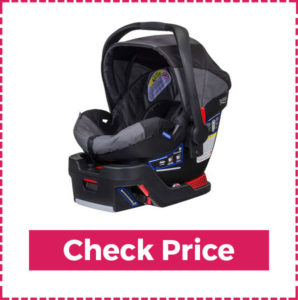 Britax B Safe35 Infant Car Seat (best Car Seat For Small Cars) 145