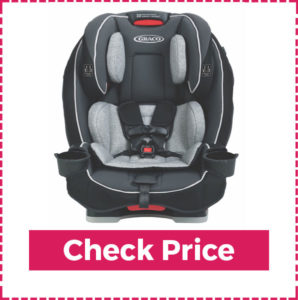 GracoSllimfit 3 in 1 Best Affordable Smallest Convertible Car Seats