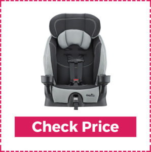 Evenflo Chase Harnessed Booster - Graco Booster Seat