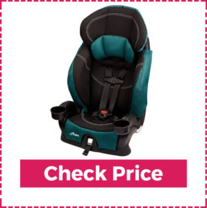 Evenflo Chase Harnessed Booster - Most Comfortable Booster Seat