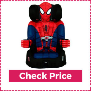 Kidsembrace 2 In 1 Harness Boys Booster Car Seat