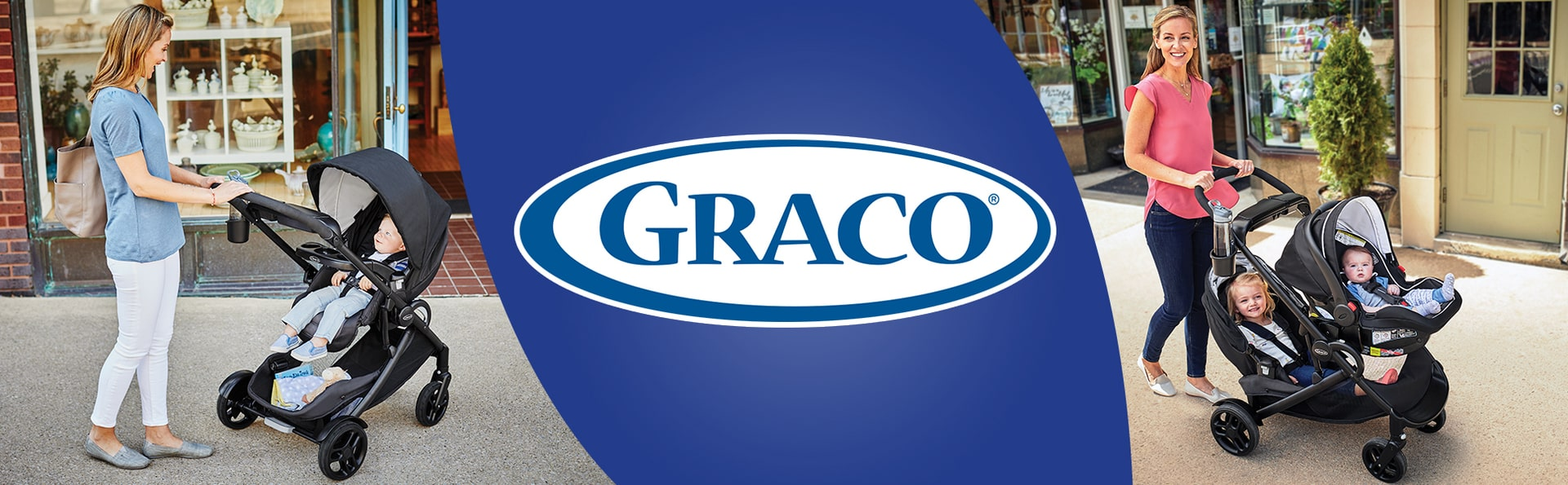 Graco Sit and stand stroller