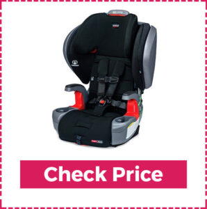 Britax Grow with you ClickTight Booster Car Seat